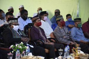 Wakil Bupati Kaimana Menghadiri pencanangan Tiang Alif