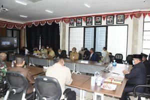 Rapat Paripurna DPRD tentang Ranperda Perubahan APBD Tahun 2020