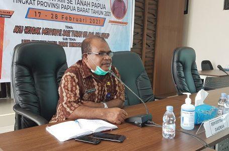 Virtual Penjabat Sekda dengan Yayasan (CTUP) dan Papua Harapan Language Institute (PHLI)
