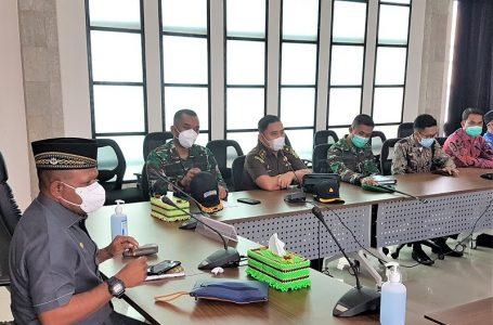 Pertemuan Wakil Bupati Kaimana, Forkopimda dan Ormas Islam Kabupaten Kaimana