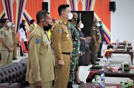 Bupati Kaimana Freddy Thie, menghadiri acara Pembukaan Musrembang RPJMD 2021-2026