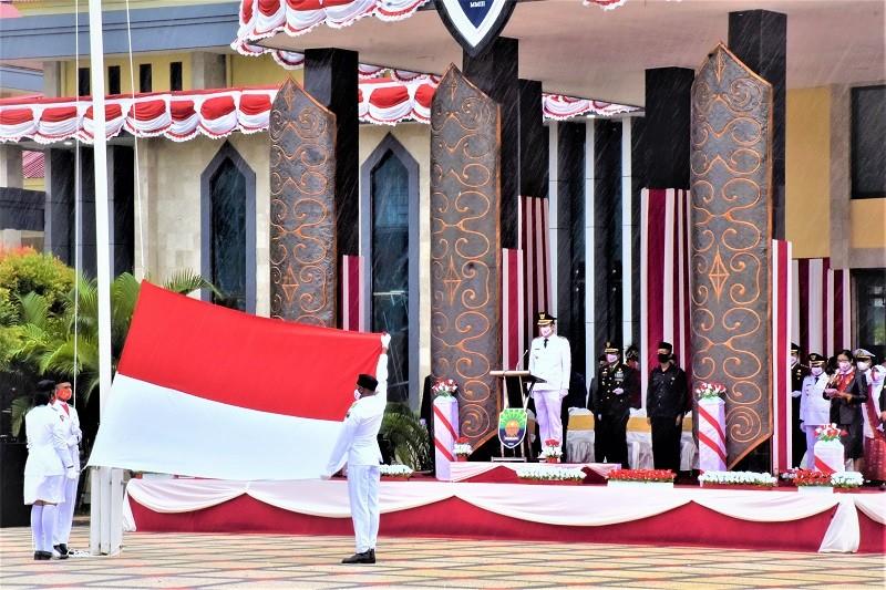 PERINGATAN DETIK-DETIK PROKLASI REPUBLIK INDONESIA YANG KE -76 TAHUN 2021 DI KABUPATEN KAIMANA