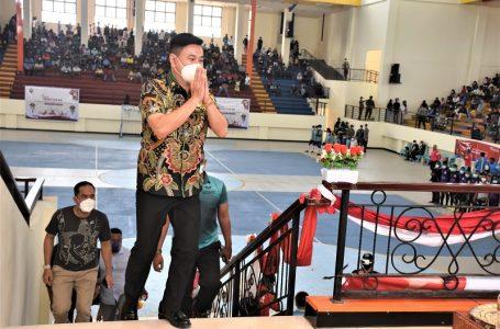 Bupati Kaimana Hadiri Laga Final Futsal Merebutkan Trophy Bupati Cup