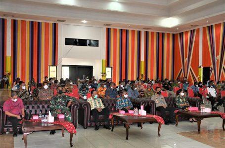 WAkil Bupati kaimana Beserta Forkopimda Menghadiri Undangan Pertemuan Panitia KBMAP